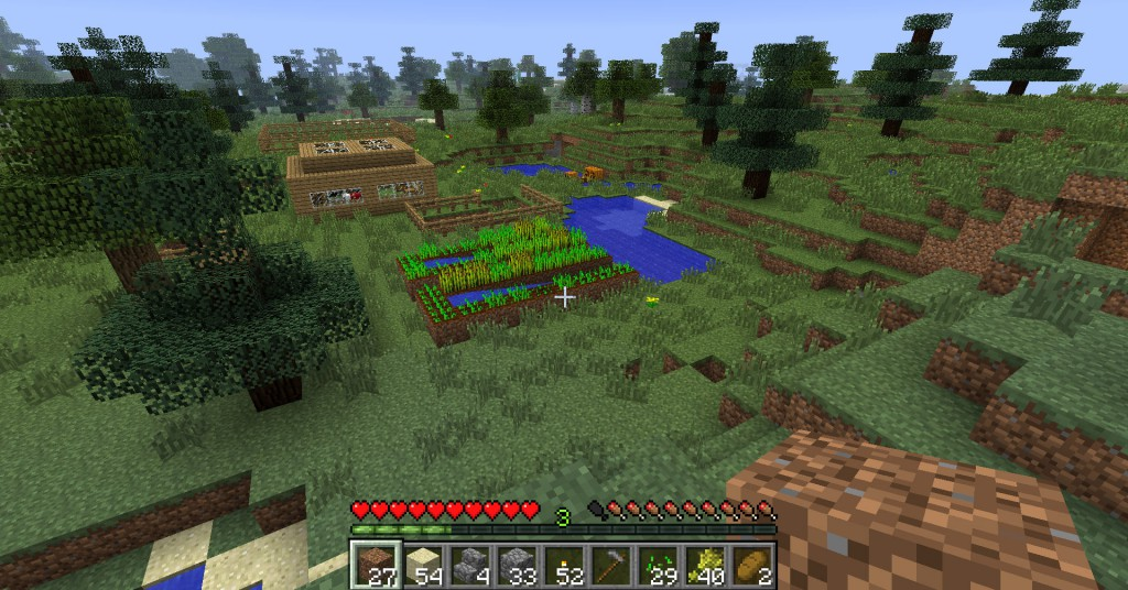 A screenshot of the game Minecraft