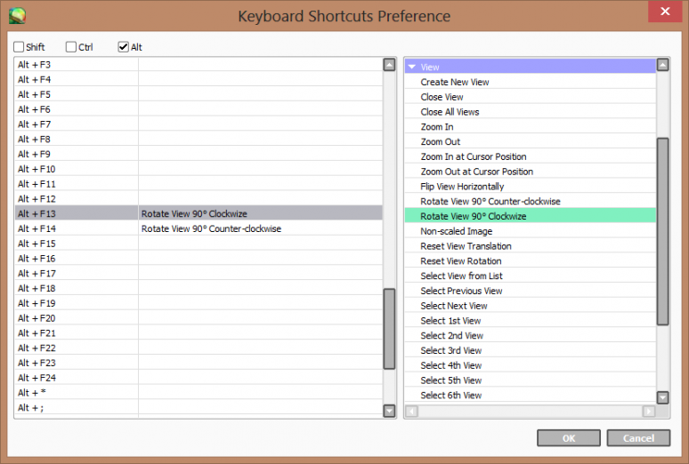 Editing Keyboard Shortcuts in Paint Tool SAI