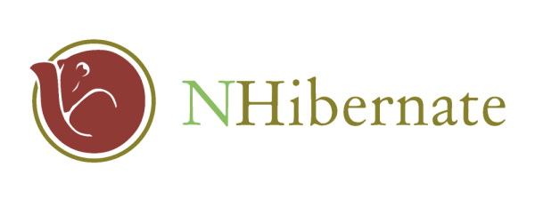 The NHibernate logo, a rolled-up (hibernating) squirrel
