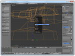 Screenshot of a root bone being added to a model in Blender
